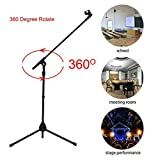 Best Stands Mic - 360 Degree Rotate Height Adjustable Single Microphone St Review