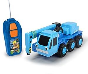 Simba Dickie 203134005Bob el Constructor RC heppo BDB, Azul/Gris, 20cm