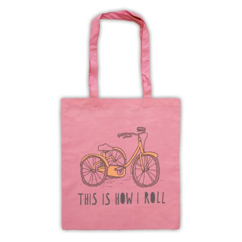 My Icon Art & Clothing , Borsa da spiaggia  Uomo-Donna Rosa