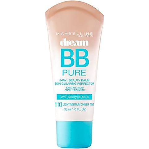 MAYBELLINE Dream Pure BB Cream - Light/Medium Sheer Tint -