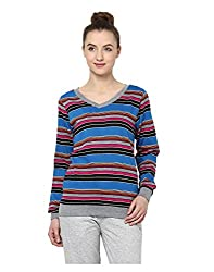 Yepme Rihanna Sweatshirt - Magenta -- YPMSWEAT5101_L