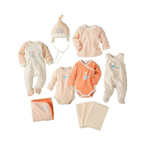 10-tlg. Baby Erstausstattungsset von BORNINO / Baby Erstausstattungsset mädchen /...