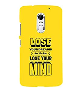 PrintVisa Designer Back Case Cover for Lenovo Vibe X3 (Quote Love Heart Messages Crazy Express Sorry )