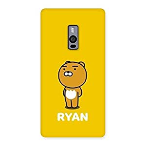 Neo World Yellow Teddy Back Case Cover for OnePlus 2