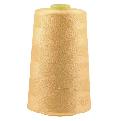 maDDma 4572m Overlockgarn Nähgarn Polyester Overlock Garn, wähle aus 400 Farben, Farbe:A704 Bisque -