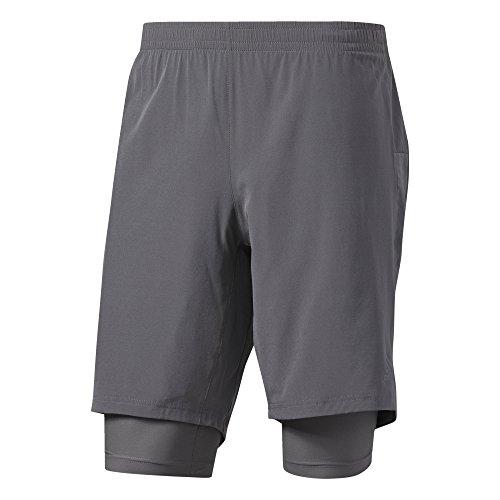 Adidas Supernova Dual Shorts. grigio (gricin)