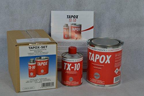 Preisvergleich Produktbild 2 SETS FERTAN TAPOX 2-KOMPONENTEN EPOXY TANKVERSIEGELUNG;TANK;ROST;AUTO;MOTORRAD;Tankbeschichtung, Innenbeschichtung, Tankrestaurierung