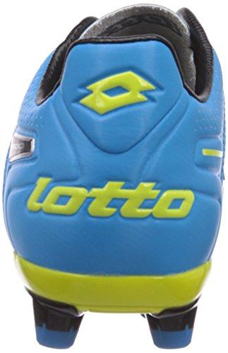 Lotto Sport STADIO POTENZA V 200 FG Herren Fußballschuhe Mehrfarbig (WHITE/FL BLUE)