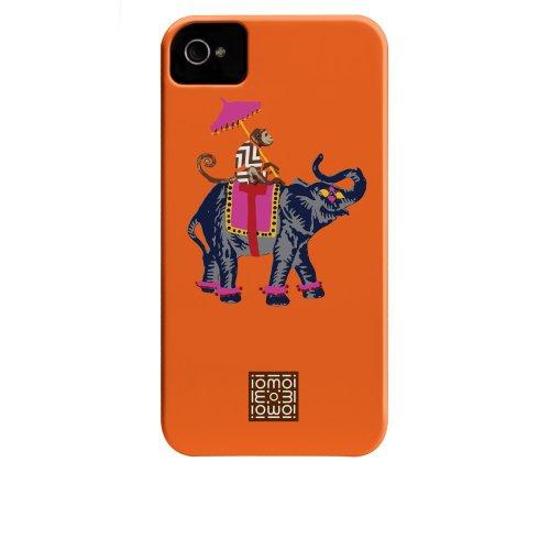Case-mate iomoi Tough Designer Cases for Apple iPhone 4/4s - LV the Monkey Ling Elephant