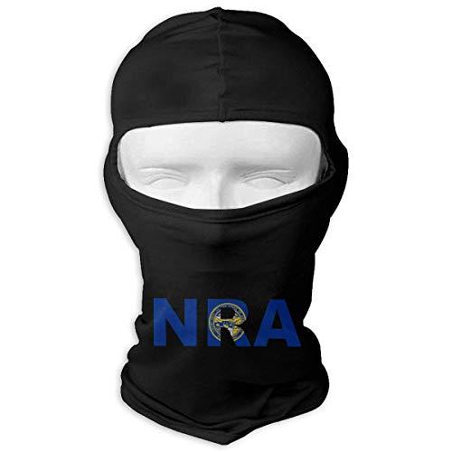 Jxrodekz NRA-Flagge der Nebraska-Motorrad-Sturmhaube-Gesichtsmaske-Haube - Nebraska Angeln