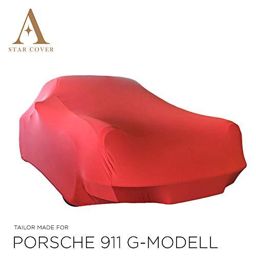 Star Cover Housse Voiture INTÉRIEUR Porsche 911 | Rouge Housse |...