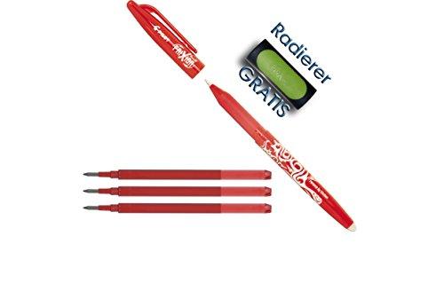 pilot-stylo-roller-frixion-ball-1-stift-3-minen-rouge