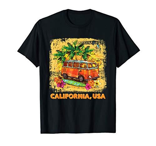 California USA Van T-Shirt