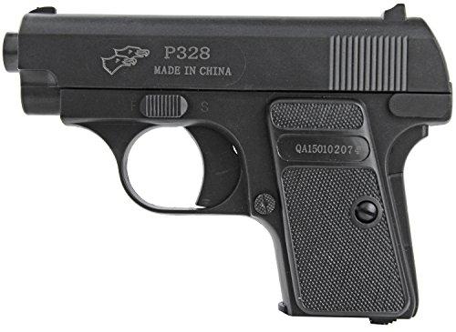 Geheimer Krieg Kostüm - Mini Softair-Pistole P328 Sport Gun Geheim