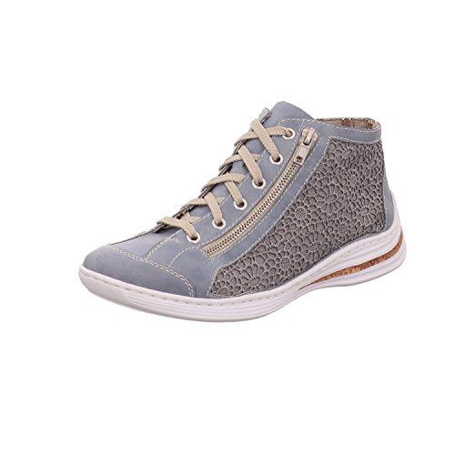 Rieker Damen M3539 Sneaker Blue/Jeans
