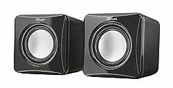Trust 22132 Ziva Compact 6 W 2.0 Speaker Set With Usb Powered - Black