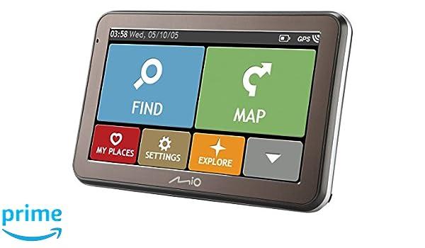 Mio spirit 5400 full eu auto navigation: amazon.de: elektronik