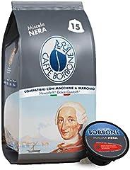 Caffè Borbone Miscela Nera, Confezione da 6 x 15 Capsule