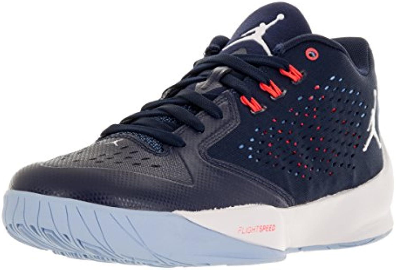 Nike Shoes, Men's Jordan Rising Hi-Low Basketball Shoes, Nike Black B0063JJ9RC Parent 033a40