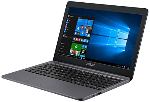 Asus E203NA-FD026T 11.6-Inch HD Laptop (Celeron N3350/2 GB DDR 3 RAM/32 GB/Windows 10/Integrated Graphics), Star Grey