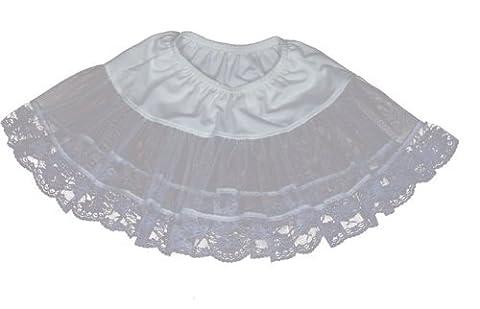 Lace Petticoat (White) Child Accessory by Cinema Secrets