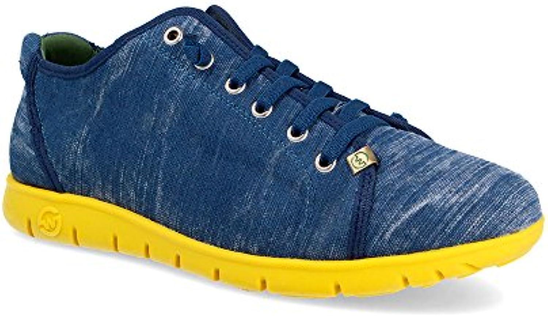Sneaker Zapatilla Hombre Teemo Mali Vaquero Viejo Banana Slowwalk
