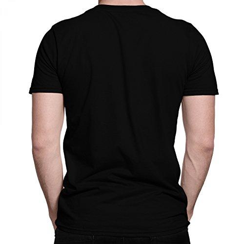 Warcraft Allianz Wappen in Gold / Premium Fun Motiv T-Shirt XS-5XL mit Aufdruck / Ideales Geschenk Schwarz