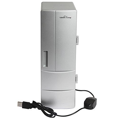 Sidiou Group USB pequeño refrigerador mediano refrigerador del USB mini nevera congelador...