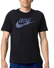 Nike Men's NSW Tee Camo 1, Black(Black/Midnight Navy010), L