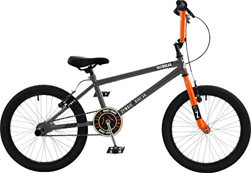 Zombie Unisex's Z2016202-1 Outbreak, Dark Grey/Orange, 20'' Best Price and Cheapest