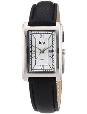 Just Watches Damen-Armbanduhr XS Analog Leder 48-S3875SL-RÖ