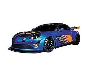 Mondo- Renault Alpine GT4 vehículo teledirigido, Color Negro/Azul, 63609