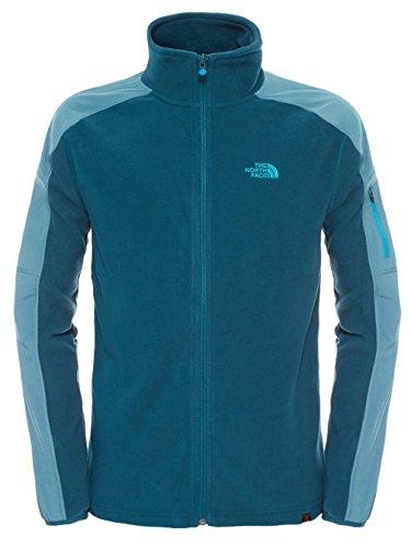Herren Fleecejacke The North Face Glacier Delta Fleece Jacket depth green/hydro green