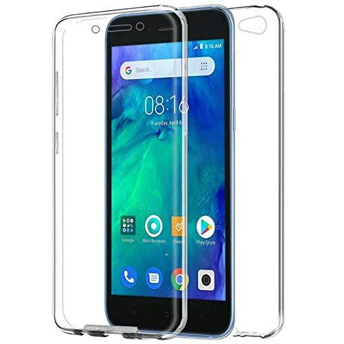 Mb Accesorios Xiaomi Redmi Go Funda DE Silicona Delantera + Trasera Doble 100% Transparente