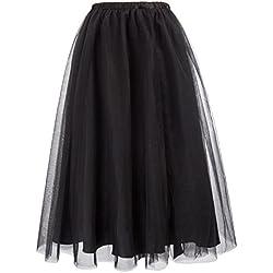Belle Poque - Falda - para Mujer Negro Negro (S