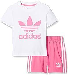 adidas t shirt rosa weiß