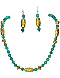 Ilakshi Thread Art Multicolor Alloy Necklace Set For Women, ITA01