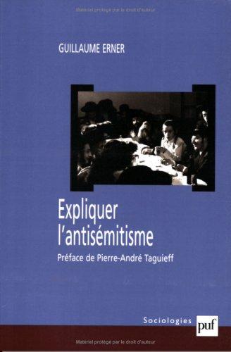 Expliquer l'antisémitisme : Le bouc...