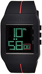Fastrack Casual Digital Black Dial Mens Watch - 38010PP01J