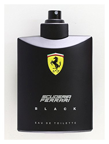 FERRARI SCUDERIA BLACK by Ferrari EDT SPRAY 4.2 OZ *TESTER  available at amazon for Rs.3276