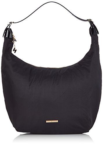 Tommy Hilfiger Chico Hobo Borsa, Donna, Colore Black/ Black 908