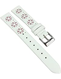 Calypso Watches Ersatzband Uhrenarmband Leder Band alle Modelle K5712, Farbe:rosa