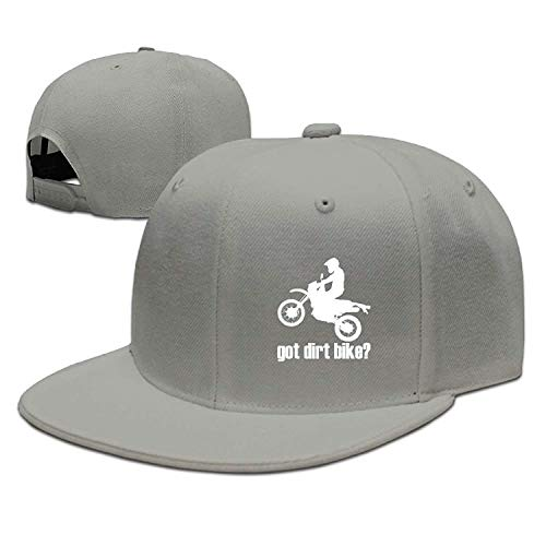 Fimaliy Adjustable Baseball Hat Caps Unisex/Men/Women - Got Dirt Bike Motorcross Racing Ash