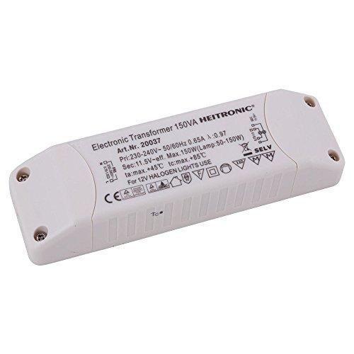 12v Ac Transformator 150w (Heitronic Elektronischer Transformator 50-150W, 12V AC)