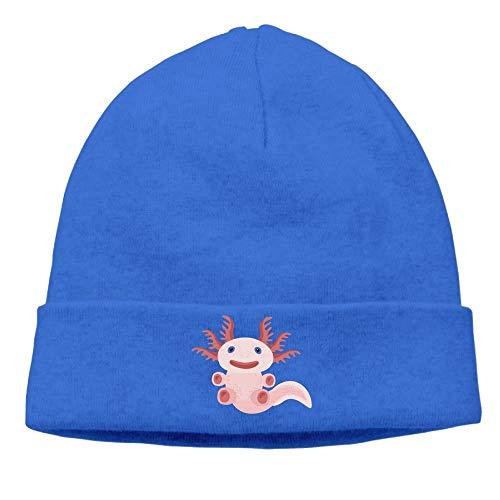 Preisvergleich Produktbild Unisex Cute Axolotl Novelty Slouchy Beanie Hipster Smart Cap Fashion for Outdoor & Home
