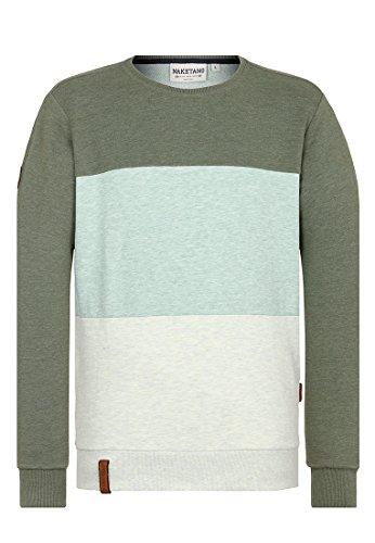 Naketano Male Sweatshirt Schniedeldance Fick diese Melange