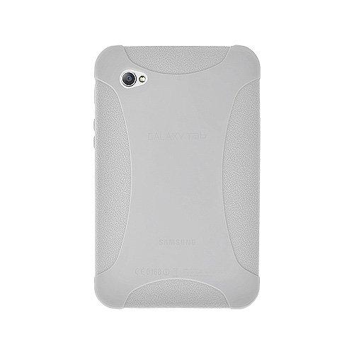 Amzer Silikonhülle für Samsung Galaxy Tab GT-P1000, transparent weiß