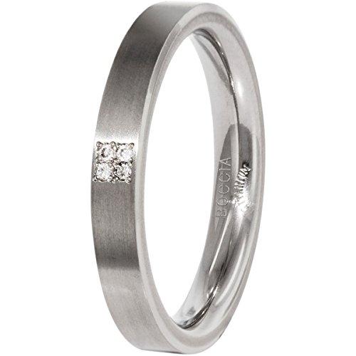 Boccia Damen-Ring Titan 4 Brillianten 0,02 Gr.60 0120-0160