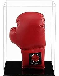 Boxhandschuh Acryl Vitrine (vertikal) mit einer Auswahl von Basis Stile