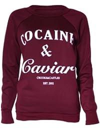 Cocaine & Caviar Damen-Sweatshirt